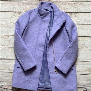 Jcrew lilac coat
